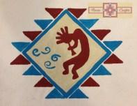 Artisan Tribes Painted Kokopelli