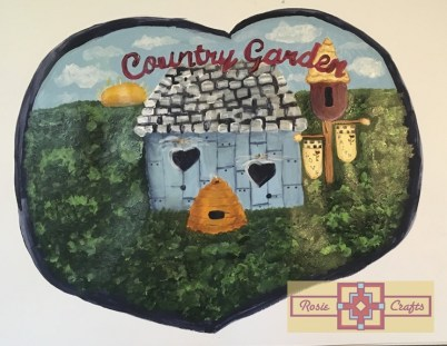 Rosie Crafts Country Cottage Painting