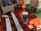 Rosie Crafts Minecraft Lego Creation