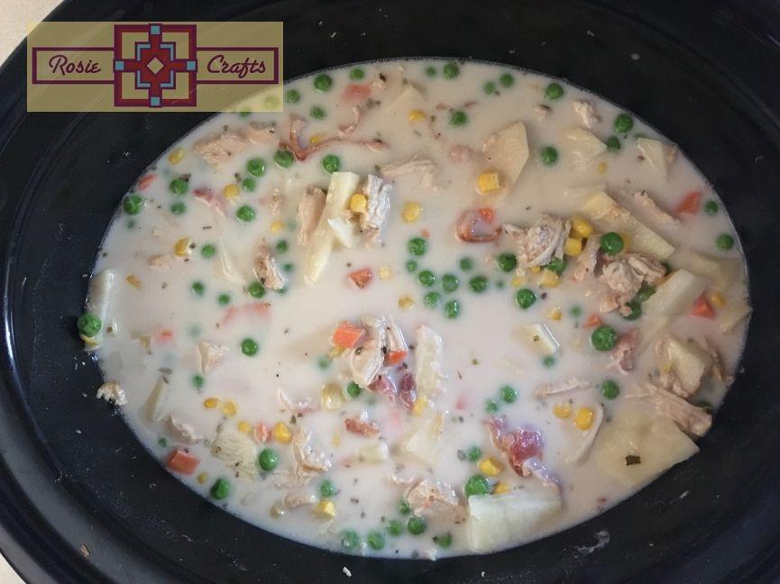 Rosie Crafts Chicken Bacon Chowder