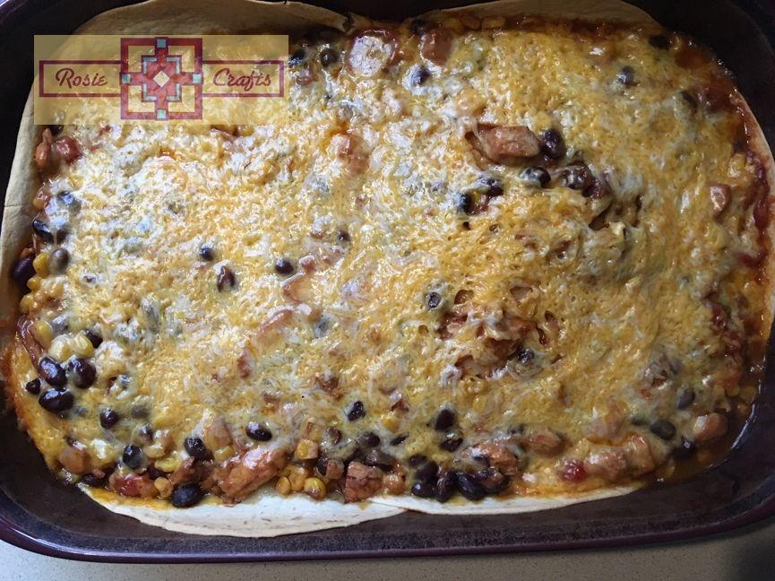 Rosie Crafts Chicken Enchilada