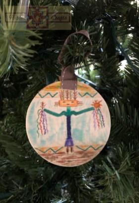 Artisan Tribes Navajo God Christmas Ornament