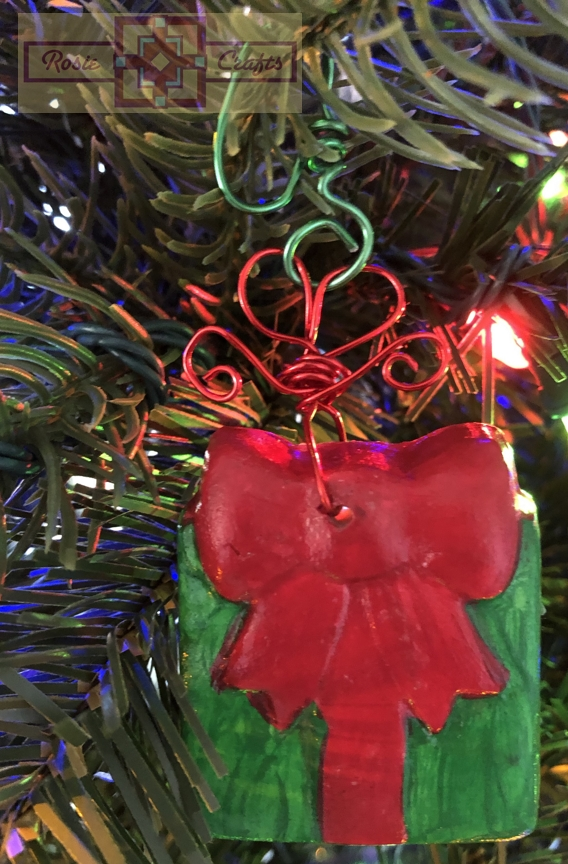 Rosie Crafts Christmas Gift Ornament