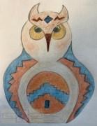 Artisan Tribes Spirit Owl