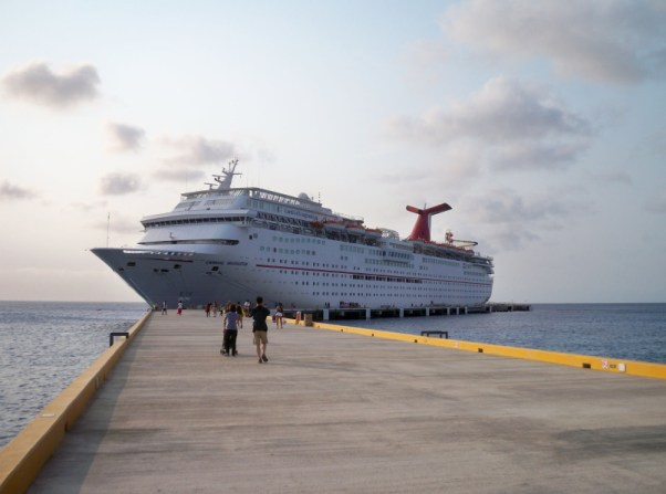 Carnival-Imagination-sits-at-the-port-in-Cozumel,-Mexico-000043010484_Small