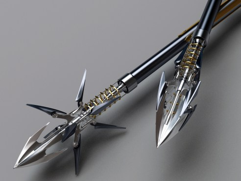 heretic_composite_bow_arrows_closeup_by_samouel-d4vtrpy