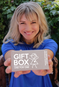 Saskia Hampele created Gift Box to make basic sanitary goods accessible to all Australian women, especially the thousands who face homelessness.