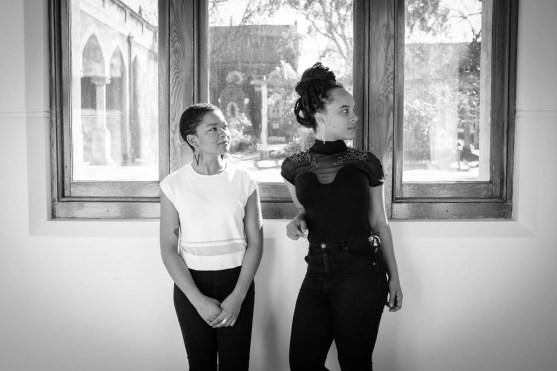 The Pin creators Lucie Cutting & Nkechi Anele