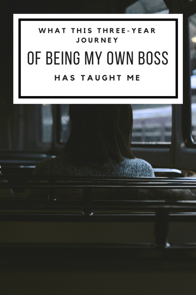 Freelancing lessons based on being my own boss