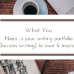 writing portfolio essentials