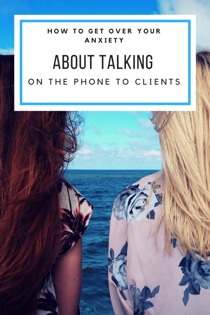 Client call anxiety tips