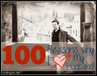100 Reasons Why I Love My Husband
