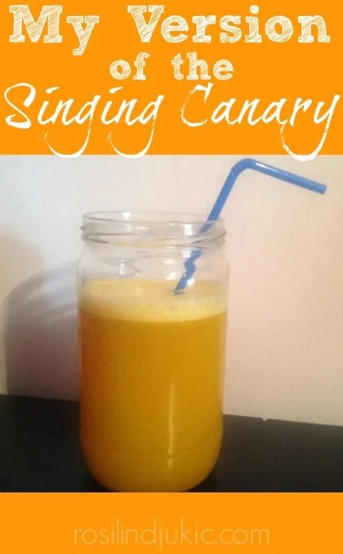 Do you drink Trim Healthy Mama drinks? Here is my version of The Singing Canary