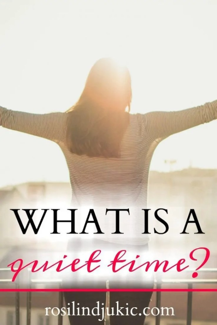 What is a quiet time and how do we know if we've had an effective quiet time? Click over to learn what a quiet time is and why it is important to our daily lives.