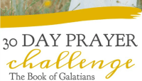 30 Day Prayer Challenge for Galatians