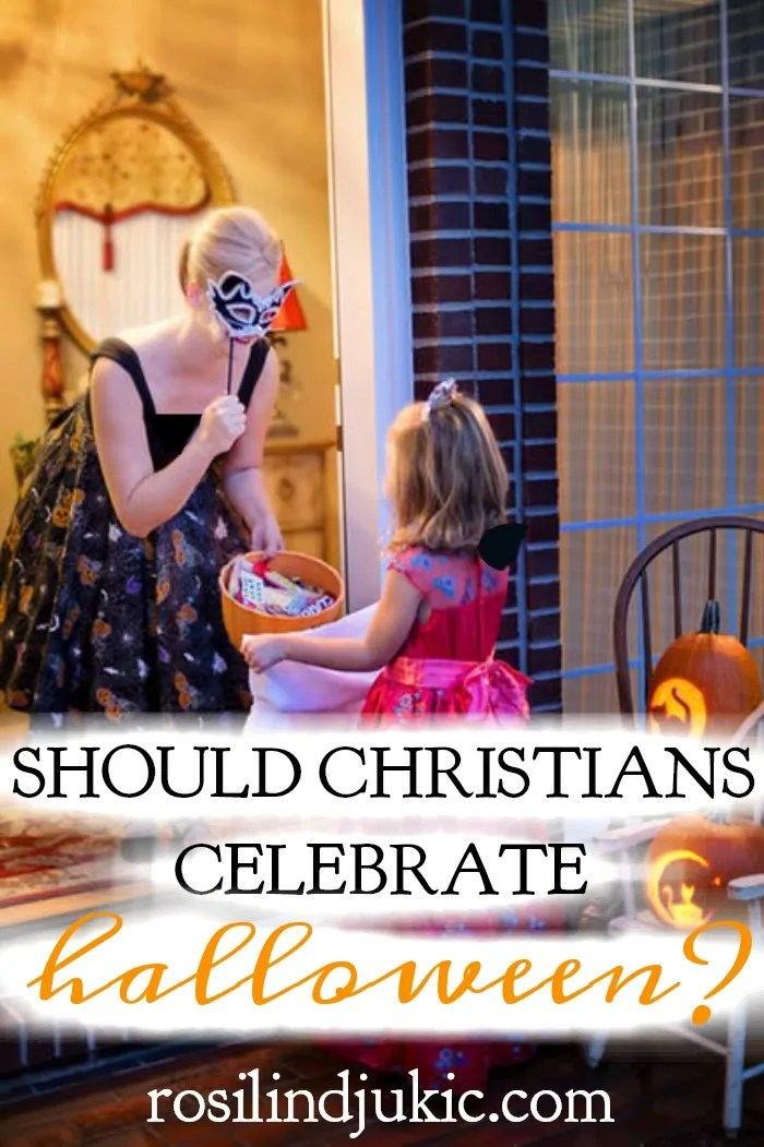 The question arises should Christians celebrate Halloween? Is it celebrating the devil, or is there a way that Christians can use it as an opportunity?