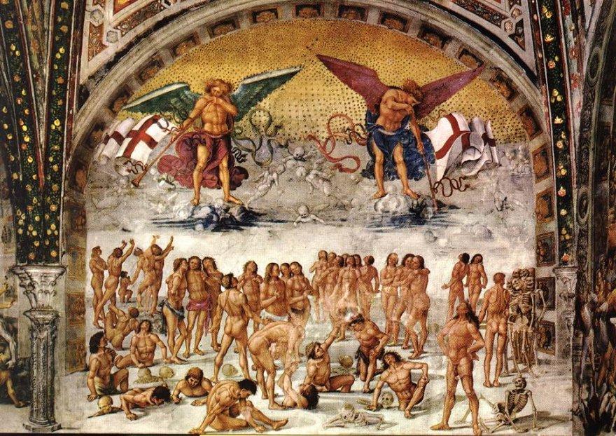 """Luca Signorelli: """"Resurrezione della carne"""" (Duomo di Orvieto)"""