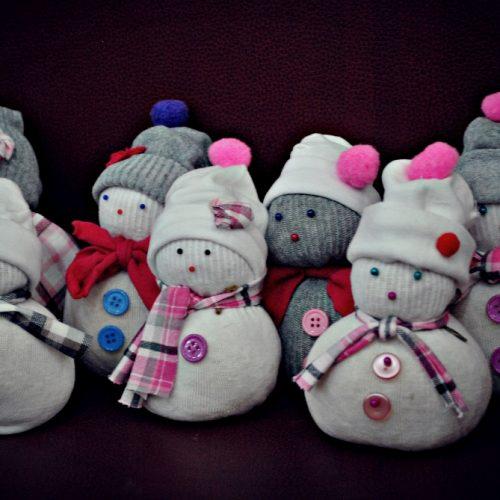Ponožkový snehuliak Centrál (8)