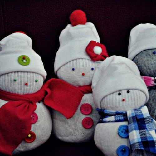 Ponožkový snehuliak Centrál (9)