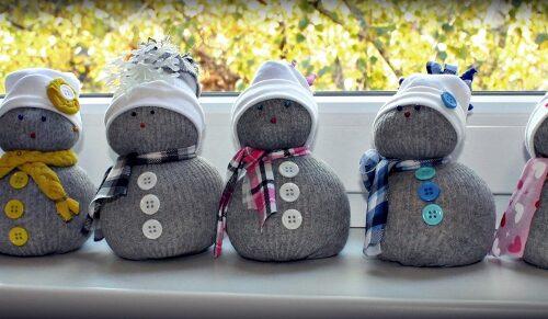 Ponožkový snehuliak ROS (4)