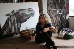 Artist Roslyn Nolen