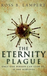 The cover image for The Eternity Plague