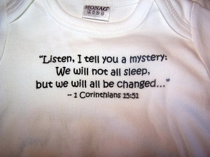 saying on shirt