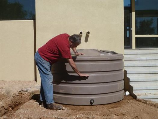Office rainwater tanks 3