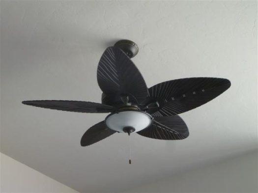 """""""Oriental"""" bedroom ceiling fan"""