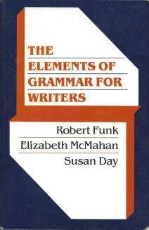 """The Elements of Grammar for Writers"" book cover"