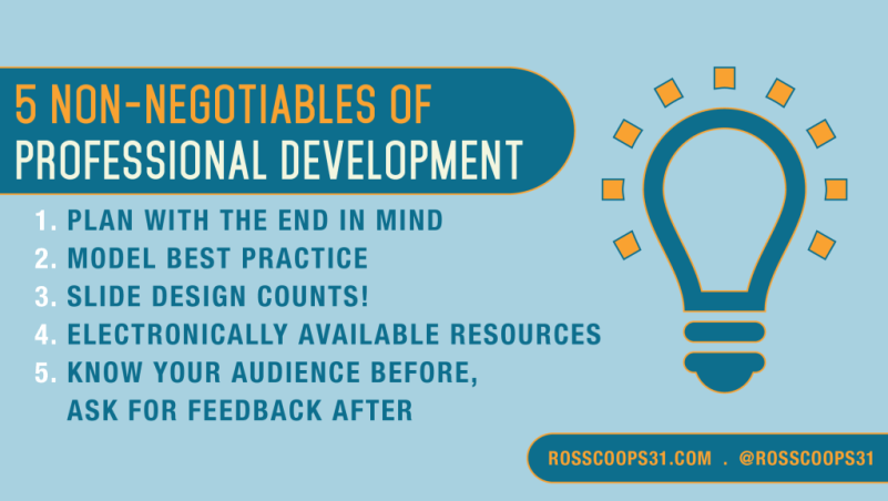 5 Non-Negotiables of Professional Development - Corwin