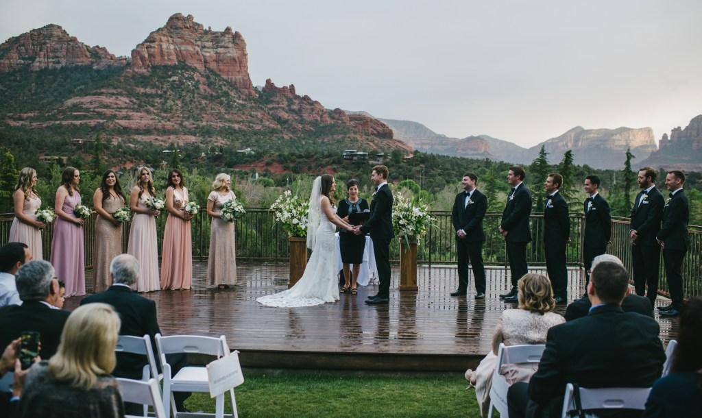 Nancy & Chris' Sedona Wedding