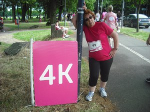 Success in the race for life drove Janet forwards to her goals