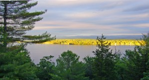 Rock Harbor view of Lake Champlain and Vermont shoreline