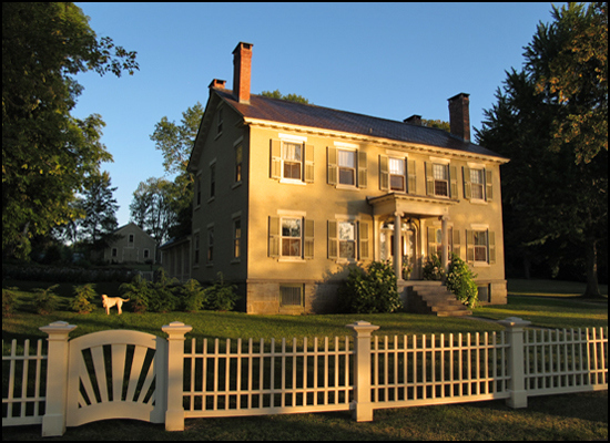 Rosslyn (aka the W.D. Ross Mansion, Hyde Gate, and The Sherwood Inn) in Essex, NY.