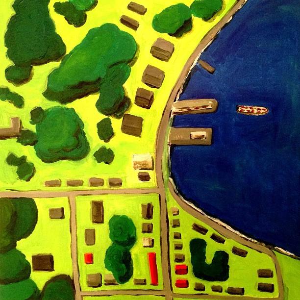 Essex Aerial View, by Amy Guglielmo