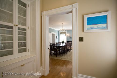 Rosslyn Dining Room Cabinet (Credit: Nancie Battaglia)