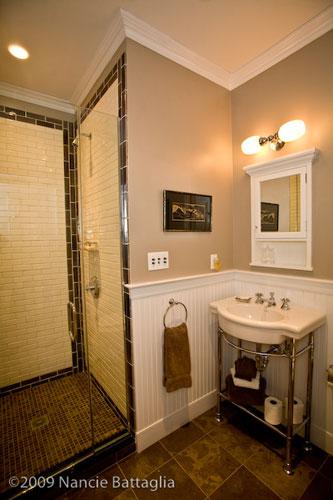 Rosslyn: Study Bathroom (Credit: Nancie Battaglia)