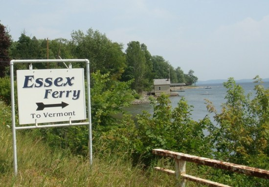 Essex Ferry to Vermont (Photo: Ray and Linda Faville)