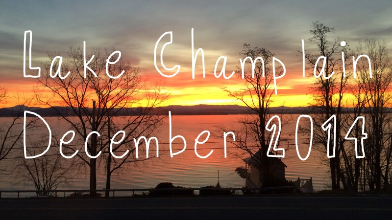 Lake Champlain, December 2014