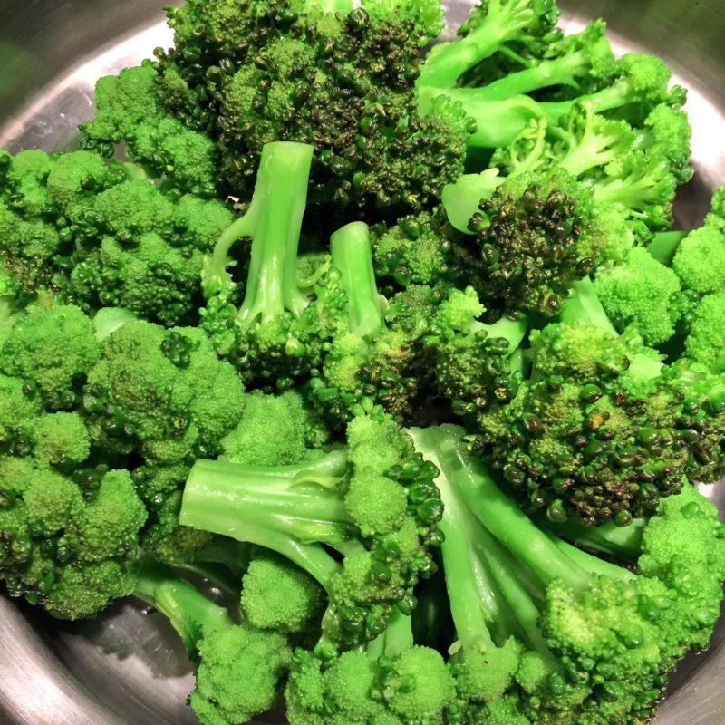 Garden-Fresh Broccoli, fresh out of the steamer!