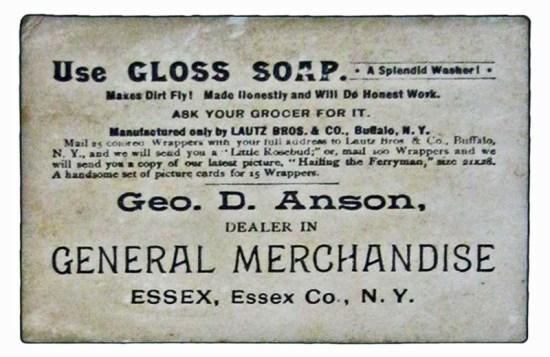 George D. Anson, Essex Merchant