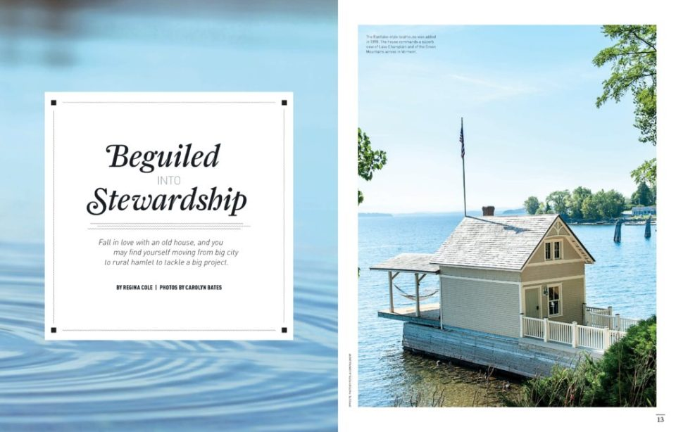 """""""Beguiled into Stewardship"""", Old House Journal, June 2015 Issue (Page 1-2)"""