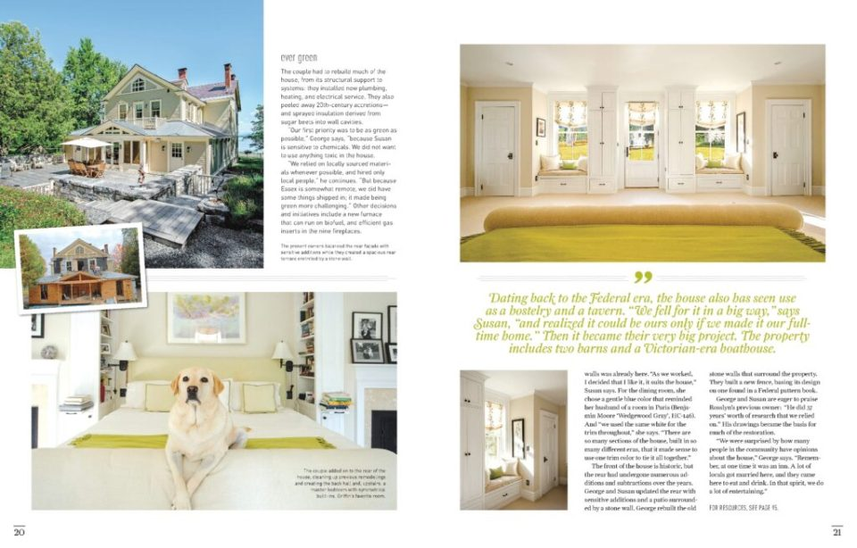 """""""Beguiled into Stewardship"""", Old House Journal, June 2015 Issue (Page 9-10)"""