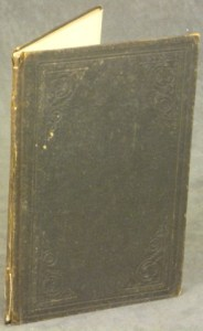 Front cover of Henry H. Ross memorial book: In Memory of Gen. Henry H. Ross, who dies at Essex, Essex County, N.Y. on the 13th day of Sept., 1862 (Source: eBay.com)