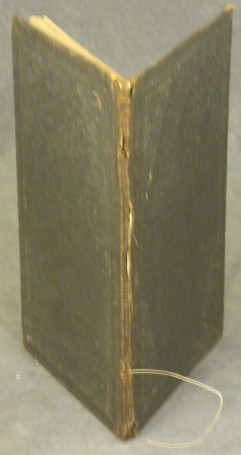 Spine and covers of Henry H. Ross memorial book: In Memory of Gen. Henry H. Ross, who dies at Essex, Essex County, N.Y. on the 13th day of Sept., 1862 (Source: eBay.com)