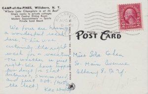 Camp of the Pines, Willsboro, NY (postcard)