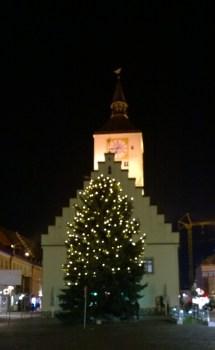 Christbaum Deggendorfer Stadtplatz