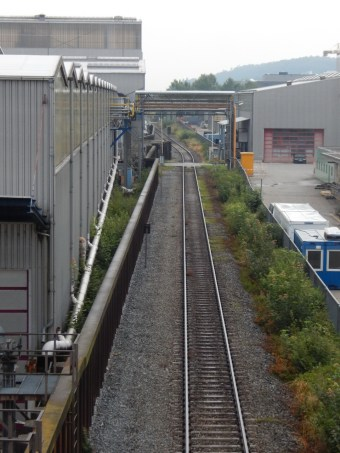 Eisenbahnstrecke Deggendorf - Hengersberg