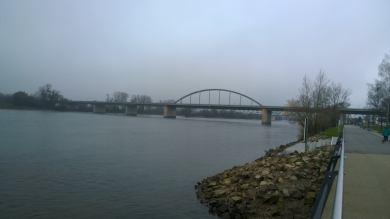 Die Deggendorfer Autobahnbrücke